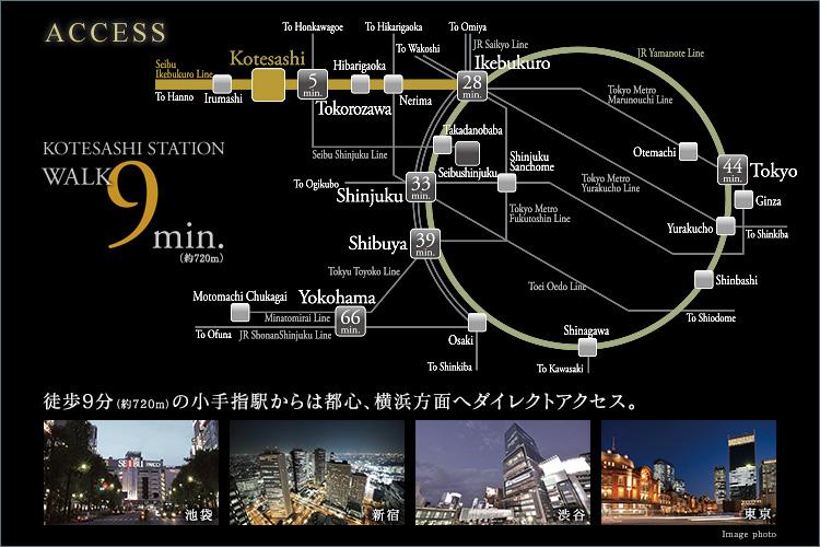 ■ 都心へダイレクトアクセス