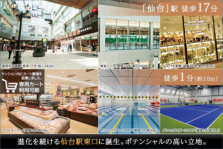 ■魅力的に生まれ変わる「仙台」駅EAST