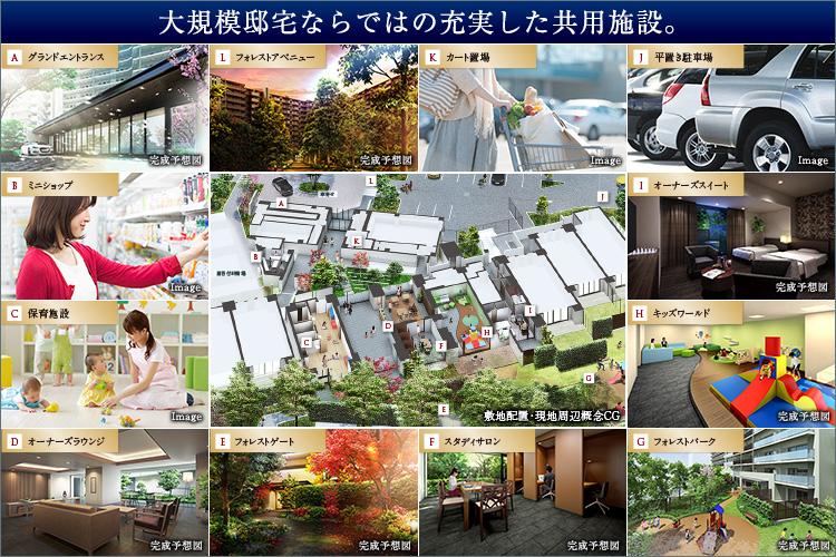 家族の物語がたくさん生まれる319邸のホームタウン誕生。