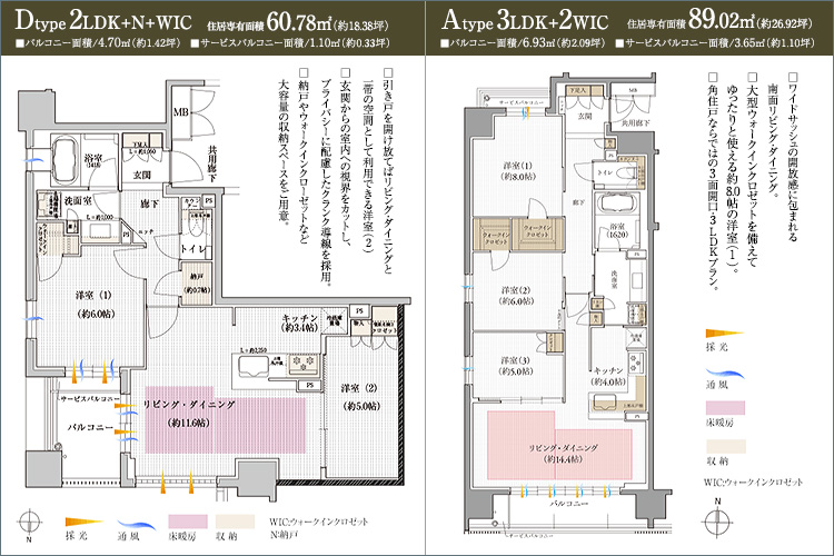 2駅2路線のアクセスで、京都各所が身近に。