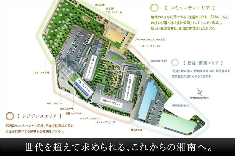 ■再開発を経て、生まれ変わった街「辻堂」