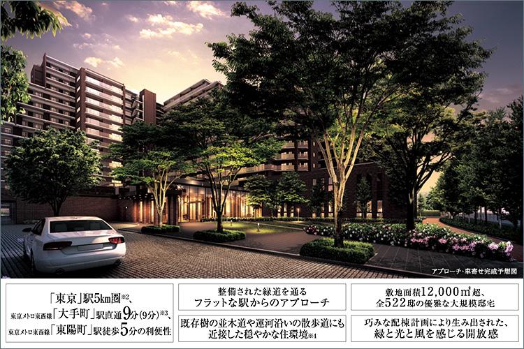 住友不動産が目指したのは、アクティブに東京を生きている家族のみなさんに、東京都心5km圏内(※2)で自身の環境を転換できる装置のようなマンションをお届けすることでした。