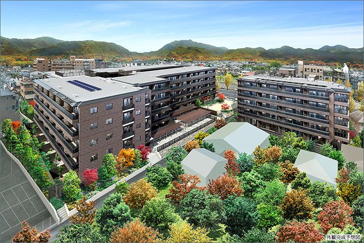 JR山陰本線「嵯峨嵐山」駅徒歩3分。平安時代より景勝地として名高い嵐山を借景に『ライオンズ嵯峨天龍寺若宮』が誕生します。