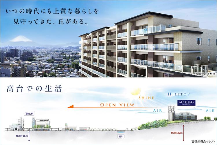 横浜へ、都心へ、湘南の主要スポットへ、思い立ったらダイレクトアクセス。