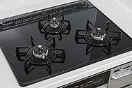 お料理の微妙な火加減調整はセンサーでサポートしてくれるので、快適。様々な安全性能もついているので、お子様とのクッキングも安心です。
