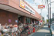 オーケー中杉店 約710m(徒歩9分)