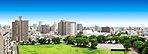 現地眺望写真※現地10階相当の眺望写真(2016年9月撮影)に、一部CG加工を施したものです。眺望は住戸により異なります。また、将来に渡って保証されるものではありません。
