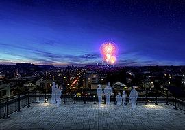 屋上部分には、360度の開放的な眺望が楽しめるルーフテラスを設置。夜空を彩る星や、華やかな花火を観覧することができ、ここに暮らす方にとって特別な時間を楽しめる贅沢な場所となるでしょう。