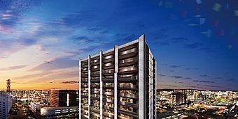 ※眺望写真は現地15階相当から撮影(平成28年6月)したパノラマ写真にCG加工をしており、実際とは異なります。※掲載のCGパースは計画図を基に描き起こしたもので、変更となる場合があります。
