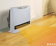 温水の熱で暖めるため空気を汚さずお部屋をすばやく暖める温水ルームヒーターを取り付けることができる温水コンセントを標準装備。※1 ※2