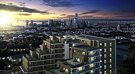 「横浜」駅約2.4km圏。かつて富豪の広大な屋敷と植物園があった、由緒正しき住宅街である三ツ沢エリア。その高台に全65戸の美しきレジデンス、『クリオ横濱三ツ沢』の誕生です。