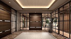建物の内側にも自然のやさしさを巡らせたデザイン。