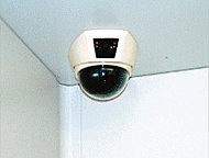 共用部・エレベーター内に防犯カメラを設置。夜の遅い帰宅時や、お子様が一人でエレベーターに乗る時も安心です。