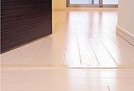 安心・快適を実感していただけるように、床は段差のないフルフラットフロア。