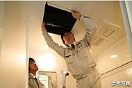 設計事務所と建設会社の竣工検査後、ナイスと管理会社[ナイスコミュニティー(株)]で内外装の仕上げ・設備機器類の動作確認まで徹底的にチェック。