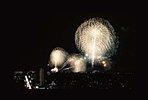 2016.ふじさわ江の島花火大会<建設地より撮影>  ※建設地14階からの眺望写真(平成28年10月撮影) 。写真は、ズームレンズを使用したものであり、実際の見え方とは異なります。