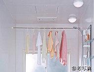 暖房・送風と同時にイオンを放出してイオンバランスを整える機能を備えた浴室換気乾燥機です。
