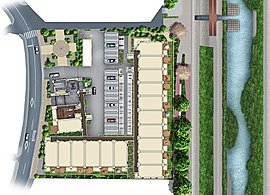 ※掲載の敷地配置概念図は、敷地をイメージしていただくための概念図であり、簡略化して表現されています。詳しくは、図面集をご確認ください。