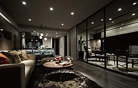 さらなる開放感を味わっていただくため、リビングと隣接する居室の間仕切り扉にはスライドウォールを採用しました。閉じれば独立した空間として使用可能。開けば、広々とした、ひとつながりの大空間として使うことができます。