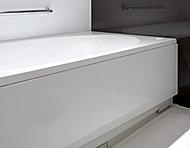 断熱構造でお湯が冷めにくい保温浴槽。追い焚き回数が減らせる省エネ・省コスト仕様です。