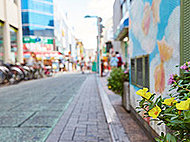 綱島西口商店街 約700m(徒歩9分)
