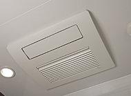 雨の日も洗濯物が干せる乾燥機能に加え、寒い時期の入浴を快適にする暖房機能等も備えています。