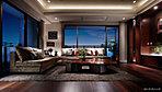 豊かな寛ぎを愉しむ空間として、細部にまでこだわりデザイン。約2,700mmを確保した天井高をはじめ、ゆとりや開放感、品位や風格が織りなす、優美な安らぎのスペースを描きました。