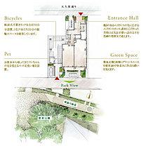 ※現地7階からの眺望をワイド合成し一部CG加工したもので実際とは異なります。(平成28年3月撮影)周辺環境・眺望・住環境は変わる可能性があり、将来にわたって保証されるものではございません。