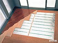 空気を汚さず、足元からやさしく部屋全体を暖めます。埃が舞い上がりにくく、室内を清潔に保ちます。※F、Gタイプを除きます。