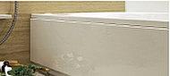 またぎやすい450m以下のエプロン高。お子様からお年寄りまで安心な高さの浴槽です。
