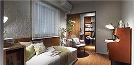 寝室としてゆったりお使いいただくことができ、リビング・ダイニングとの一体化も可能です。