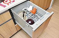 家事時間の短縮と共に、手洗いに比べて節水も可能になります。※1