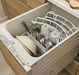 家事時間の短縮と共に、手洗いに比べて節水も可能になります。