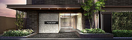 ゲストには羨望を、住まう方には誇りを。品格を感じさせる邸宅の顔としてデザイン。