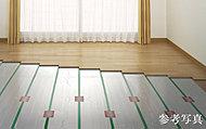 足元から部屋全体を暖めることで、クリーンで健康的な頭寒足熱を実現します。