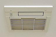 ガス温水式のパワフル暖房で浴室と洗面室を素早く暖めます。