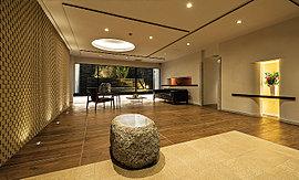 日本の伝統様式をしつらえた迎賓の空間へ