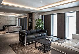 友人や親戚などがリラックスして滞在できる、ホテルの様な落ち着いたデザイン。ゲストへのおもてなしにも(要予約・有料)