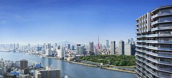 銀座1.5km圏。東京のパノラマを一望