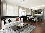 【LD】床暖房付。安らぎのひとときを与えてくれる優雅な住空間