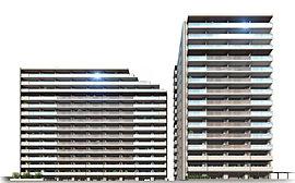 ※ブルームコートは左側の建物となります。(右はロイヤルコート)