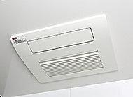 涼風・温風機能付のガス温水浴室暖房乾燥機を設置。