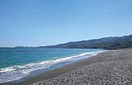 御幸の浜 約300m(徒歩4分)