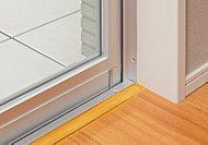 ガラスの間に空気層を設けることで断熱効果があり、省エネに貢献します。