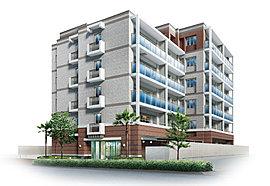 駅前に広がる快適な街に、須磨の風薫る邸、誕生。