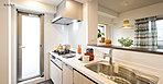 キッチン(モデルルームFタイプを2016年9月撮影)