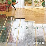 リビング・ダイニングにはガス温水床暖房を採用。空気を汚さず足元から陽だまりのような優しさでお部屋全体を暖めます。