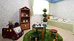 十分な収納を備えた洋室は、キッズルームなどのライフスタイルに合わせた使い方が可能