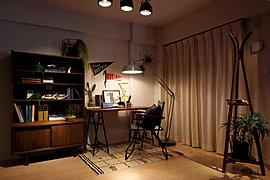 フレキシブルに利用できる洋室は、ホビールームや書斎としての利用も可能