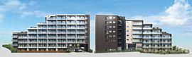 街に新しい景観を生む、住まいとしてのランドマーク。首都東京のベッドタウン、そして湾岸の拠点都市として発展を続ける「船橋」。湾岸ならではの先進的で自由な空気、独自の活気と賑い、そして住宅街の穏やかさ。